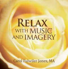 relaxing with music and imagery book
